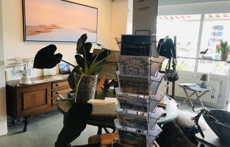 Binnen in de Verhalen-atelier van Eilandwijs