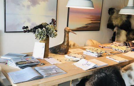 Kunstwerken in de Verhalen-Atelier van Eilandwijs